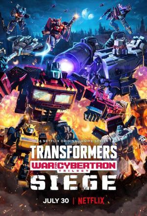 affiche Transformers : La trilogie de la Guerre pour Cybertron