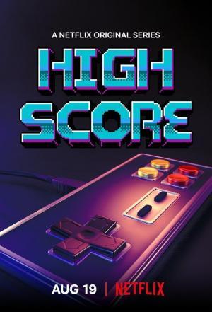 affiche High Score : L'âge d'or du gaming