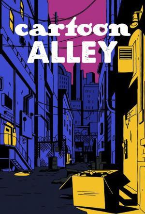 affiche Cartoon Alley