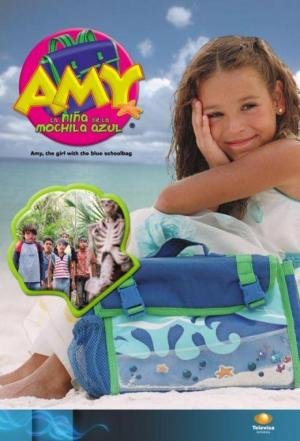 affiche Amy, the Girl with the Blue Schoolbag