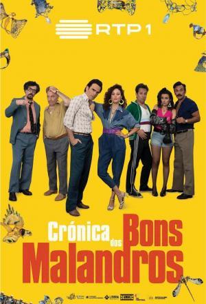 affiche Crónica dos Bons Malandros