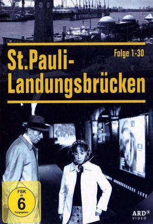 affiche St. Pauli Landungsbrücken