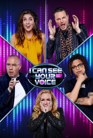 affiche I Can See Your Voice (NL)