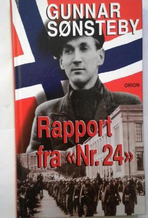 affiche Rapport fra Nr. 24