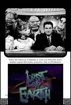 affiche Lost on Earth