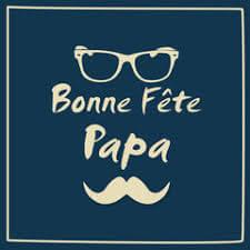 affiche Fête des pères